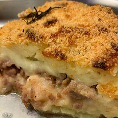 Sbriciolata di patate e salsiccia - Al.ta Cucina