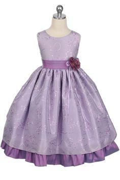 lavendar wedding dresses | ... Girl Dress : wedding dress flower girl dress lilac purple 142 Lilac 2
