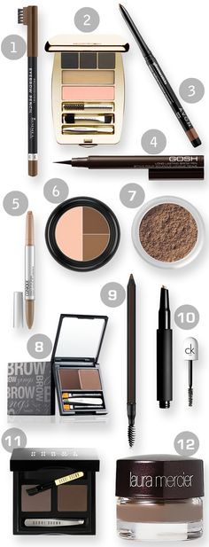 With sales of eyebrow makeup up 34% this year at John Lewis, we pick our 12 of the best eyebrow beauty buys!