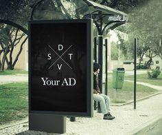 Outdoor Billboard Ad PSD Mock-up