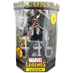 Marvel Legend TOYBIZ ICONS Venom Venom 12 inches new Spider-Man Action Figure Hot Toys HOTTOYS Avengers (japan import) Spider-Man http://www.amazon.com/dp/B008R7RWN6/ref=cm_sw_r_pi_dp_31.Eub0GC82V7