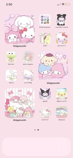 Homescreen, Ios, Hello Kitty, Snoopy, Phone, Fictional Characters, Telephone, Fantasy Characters, Mobile Phones