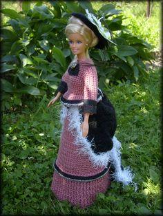 historical doll dress