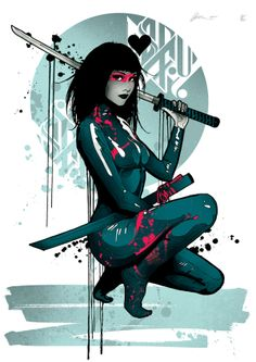 Assassin by Mitchy Bwoy, via Behance