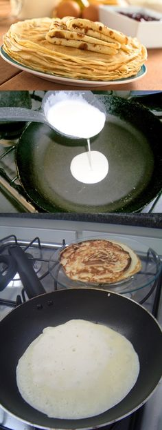 French Toast Waffles, Griddle Pan, Crepes, Food And Drink, Menu, Pasta, Cooking, Kitchen, Bananas