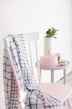 Pink Ombre Chair Mak