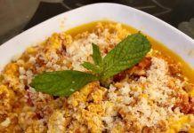 Καλοκαιρινό φαγητό Στραπατσάδα ! Macaroni And Cheese, Grains, Vegetables, Ethnic Recipes, Food, Party, Mac And Cheese, Essen, Vegetable Recipes