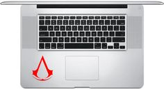3 x 25 Assassin's Creed Emblem inspired vinyl decal by NoBubbles, $2.25