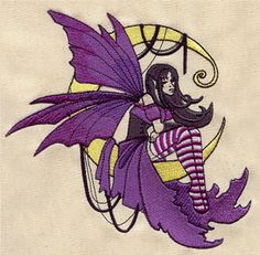 Moonbeam Fae - Thread List | Urban Threads: Unique and Awesome Embroidery Designs