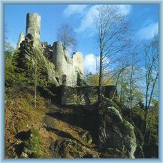Česko, Frýdštejn - Gotický hrad