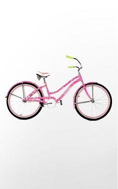I SOOOOO WANT THIS ! Lily Pulitzer Bike!!! - Click image to find more hot Pinterest pins