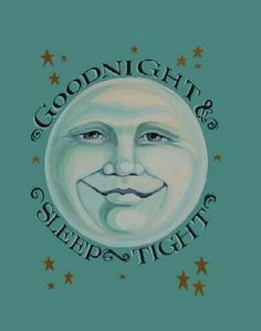 Good night and sleep tight & don't let the bed bugs bite! I said it to my kids and now I say it to my grandbabies :) You Are My Moon, Look At The Moon, Good Night Sleep Tight, Good Night Moon, Night Stars, Night Gif, Sun Moon Stars, Sun And Stars, Moon Dance