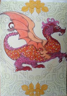 """Dragon du """"Pays des merveilles"""""""