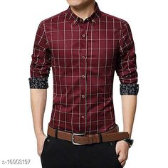 Shirts UD FABRIC Men's Casual Cotton Shirt Fabric: Cotton Sleeve Length: Long Sleeves Pattern: Checked Multipack: 1 Sizes: XL (Chest Size: 42 in, Length Size: 29 in)  L (Chest Size: 40 in, Length Size: 28.5 in)  M (Chest Size: 38 in, Length Size: 27.5 in)  XXL (Chest Size: 44 in, Length Size: 29.5 in)  Country of Origin: India Sizes Available: M, L, XL, XXL   Catalog Rating: ★4 (601)  Catalog Name: Classic Designer Men Shirts CatalogID_3183326 C70-SC1206 Code: 024-16003197-2301