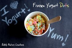 Frozen Yogurt Dots - 10 Fun St. Patrick's Day Foods - ParentMap