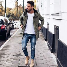 Skinny Jeans For Men Black Streetwear Hip Hop Stretch Jeans Hombre Slim Fit Fashion Biker Ankle Tight Mode Masculine, Fashion Mode, Mens Fashion, Fashion Black, Street Fashion, Fashion Menswear, Mode Outfits, Casual Outfits, Stylish Men
