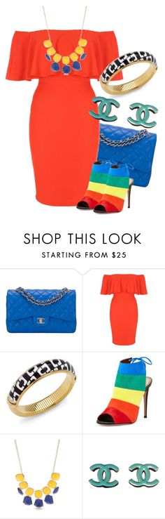"""Untitled #3349"" by ifuseekjamie94 ❤ liked on Polyvore featuring Chanel, Jane Norman, Diane Von Furstenberg, Aquazzura and New Directions"