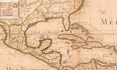 L'Amerique Septentrionale. Dressée sur les Observations de Mrs. de l'Académie Royale des Sciences