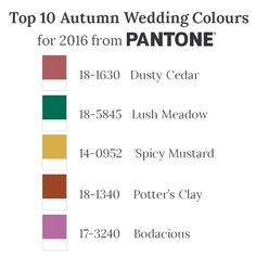 After sharing 5 of Pantone's Top 10 Colours for Autumn 2016 – you can't possibly have forgotten those lovely blues and neutrals (if you missed them, or just want a reminder, you can see them here) – today I am back with Part II, which packed with poppy exotic shades that radiate warmth, couldn't be more different….or more lovely! Anything but muted... READ THE REST