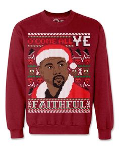 Spending Christmas In Hollis  Want to stay Coogi down to your Xmas  stockings  Look fly for the holidays in these Hip-Hop ugly Christmas  sweaters. 617b5f16f