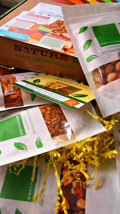 Healthy Snacks In The Mail Every Month!?! YES PLEASE!