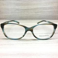 9f7a1118f Tiffany & Co. TF 2097 TF2097 Eyeglasses Ocean Turquoise 8124 Authentic 52mm