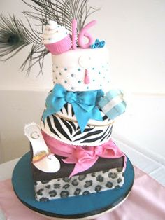 Cake Boss Blue | Let Them Eat Cakes: Sweet 16 - At The Casbah
