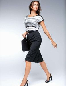 Moda para vestidos de oficina 2014 10