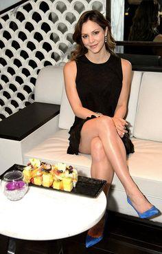 Katharine McPhee Spotted at Hakkasan Restaurant at MGM Grand in Las Vegas on April 3, 2015