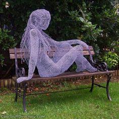 ... Chicken Wire Dress Sculpture ...