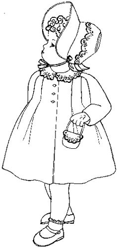Want to make this precious  French coat and bonnet