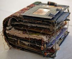 WOW! This isn't just an altered book...it's an altered encyclopedia!