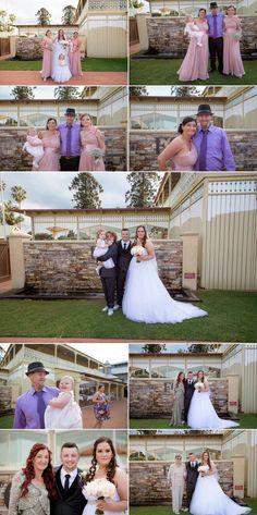 Kim & Gavin's Flaxton Gardens Wedding Bridesmaid Dresses, Wedding Dresses, Bride Hairstyles, Garden Wedding, Photo Booth, Gardens, Beautiful, Ideas, Fashion
