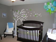 one day this will be my nursery inspiration. perfect for a boy and swap the blue for pink for a girl