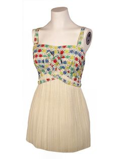 1950s Bathing suit.This one I love!