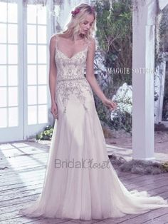 Maggie Sottero Andraea 6MR840 - [Maggie Sottero Analeigh] -  Buy a Maggie Sottero Wedding Dress from Bridal Closet in Draper, Utah