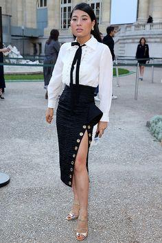 Princess Sirivannavari Nariratana of Thailand arrives at the Chloe show as part of the Paris Fashion Week Womenswear Spring/Summer 2016 on October 1, 2015 in Paris, France.