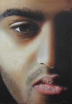 Vashand Airbrush painting on board Acrylic