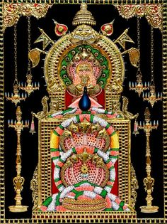 Muruga Homa is also called the Subramaniya Homam. It is performed for Lord Muruga and he is invoked by the chanting of Muruga Mantras. Mysore Painting, Tanjore Painting, Ganesha Art, Lord Ganesha, Indian Gods, Indian Art, Lord Murugan Wallpapers, Lord Shiva Family, Shiva Statue