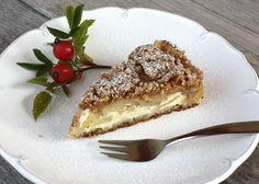 Sypaný jablkový koláč s tvarohom - recept Apple Pie, Tiramisu, French Toast, Good Food, Cheesecake, Gluten Free, Nutrition, Breakfast, Ethnic Recipes