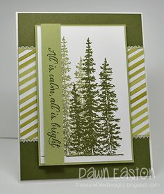 All Is Calm, All Is Bright by TreasureOiler - Cards and Paper Crafts at Splitcoaststampers