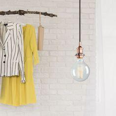 Contemporary Minimalist Two Tone Lighting Ceiling Rose, Ceiling Lights, Light Shades, Minimalist Design, Wardrobe Rack, Vintage Fashion, Bulb, Contemporary, Lighting