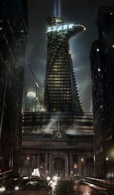Stark's tower, marvel city,LA