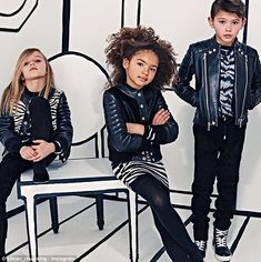 A new market: Balmain has announced that they are launching a line of high-end children's ...
