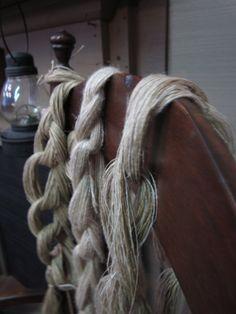 Linen warp chains