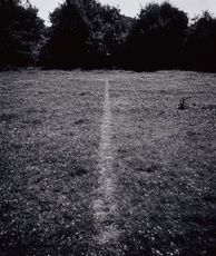 RICHARD LONG - A LINE MADE BY WALKING 1967