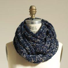 Chunky scarf by Wiksten (Jenny Gordy).