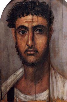 Fayoum portrait (2)