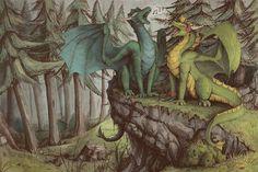 Singing dragons