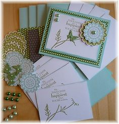 Handmade Stampin Up Card Kit by Cheryl | eBay